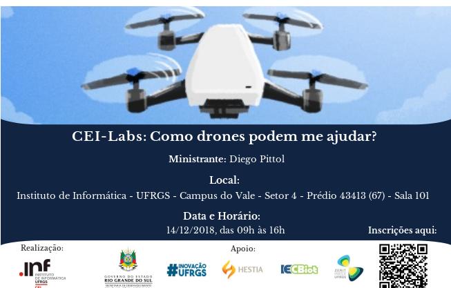 CEI LABS: como drones podem me ajudar?