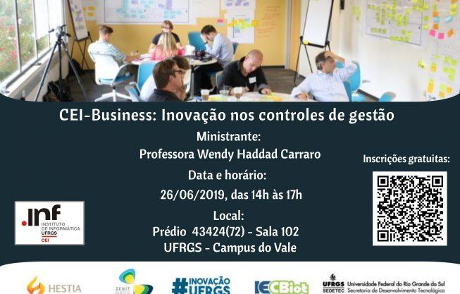 Workshop CEI-Business: Inovação nos controles de gestão