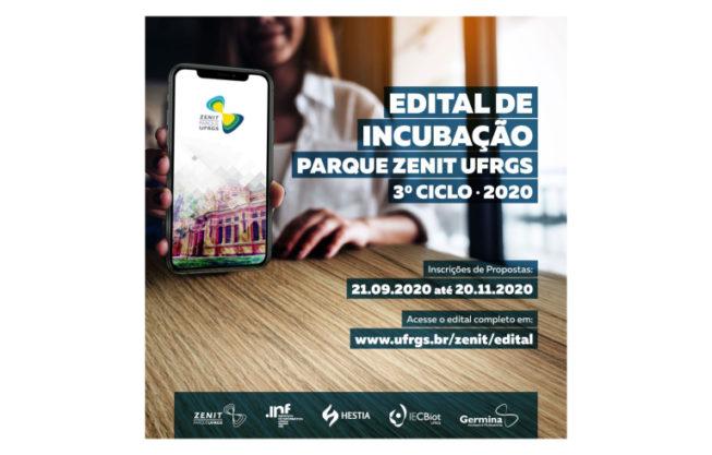 Edital de Incubação Parque Zenit UFRGS 2020-3
