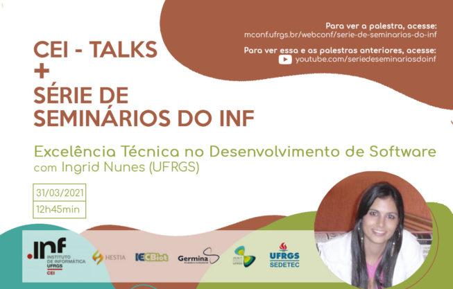 CEI-Talks + Série de Seminários do INF