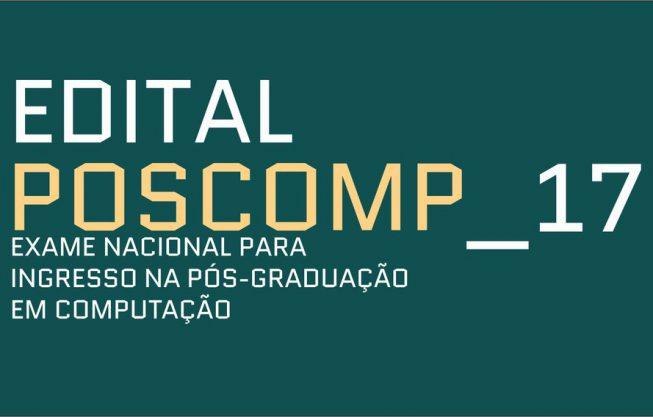 Inscrições abertas para o POSCOMP 2017