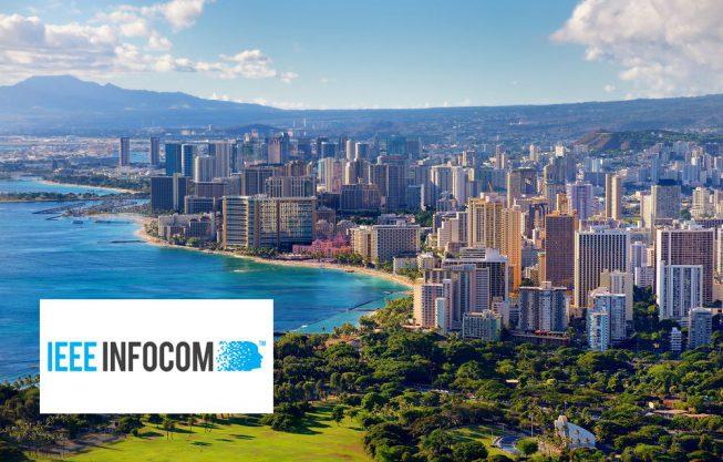 Doutorando se destaca com artigo no INFOCOM 2018