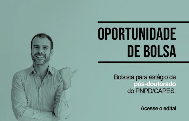 PPGC - Edital de bolsa de pós-doutorado