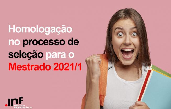 Homologação: seleção Mestrado 2021/1
