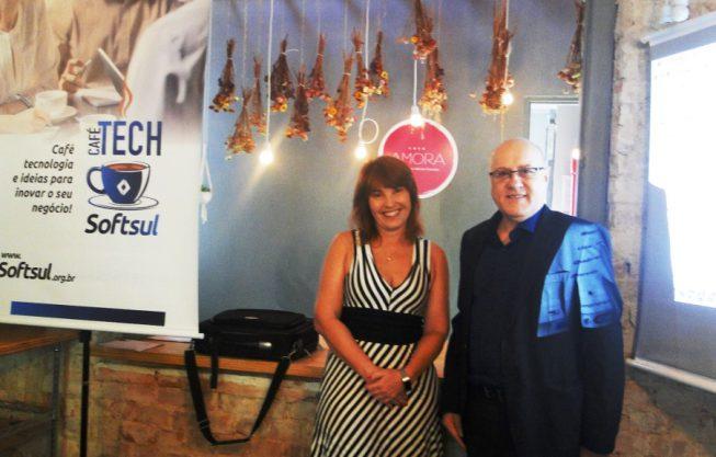 3ª edição do CaféTECH com a Profª. Karin Becker
