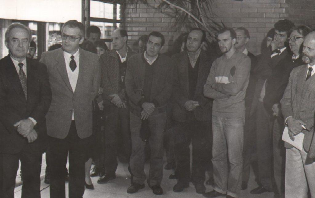 Prédio 43424 - Saguão 1° pavimento 29-05-1992 Inauguração do Instituto de Informática 15