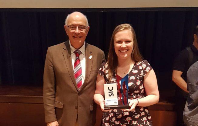 Salão UFRGS: Aluna do INF ganha Prêmio