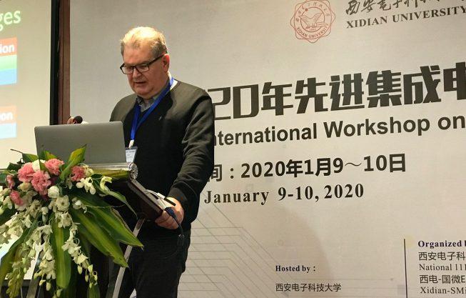 Profº Ricardo Reis participa de eventos na China