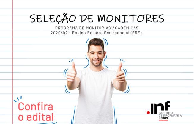 Edital de Monitoria Acadêmica 01/2021