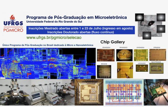 Edital do mestrado PGMICRO 2021/1
